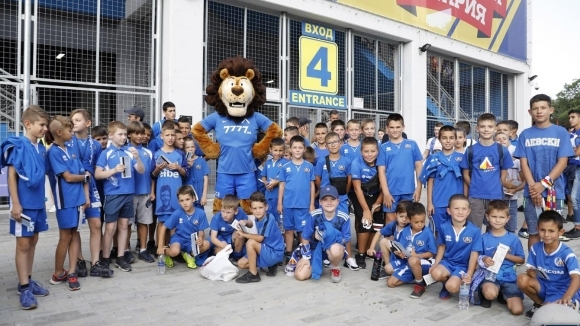 ПФК Левски кани всички свои малки привърженици, да играят любимата