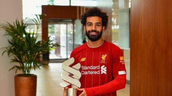 Мохамед Салах спечели първата за новия сезон месечна награда за