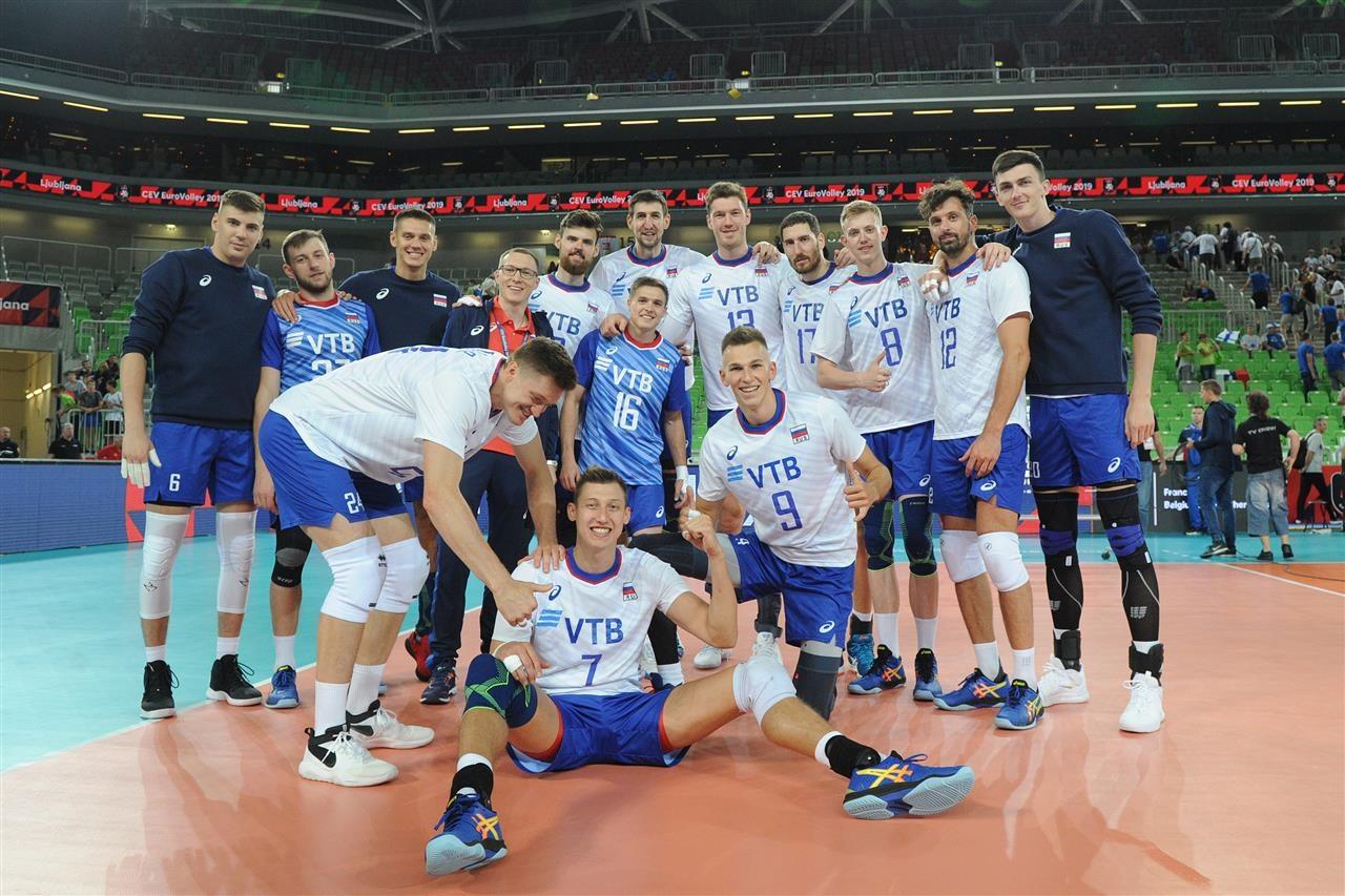 Действащият европейски шампион при мъжете Русия започна с победа защитата