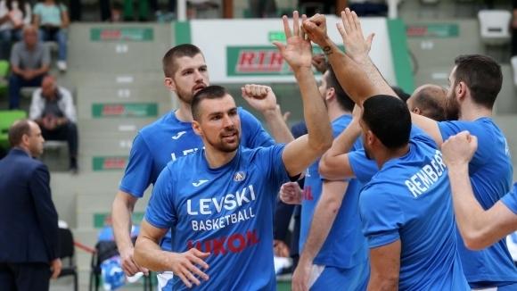 Носителят на купата на България по баскетбол Левски Лукойл допусна