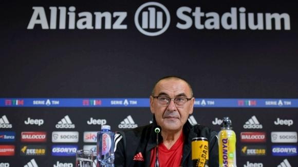 Старши треньорът на Ювентус Маурицио Сари говори преди дербито от