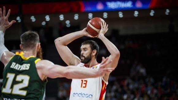 Испания преодоля съпротивата на Австралия с 95:88 в две продължения,