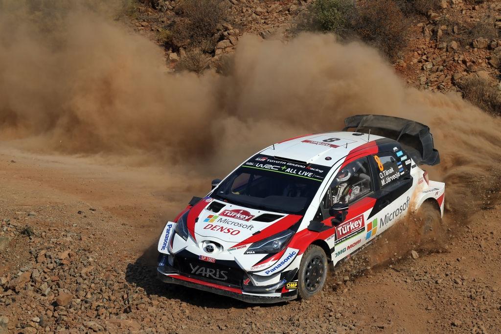 Лидерът в генералното класиране на WRC От Танак няма да