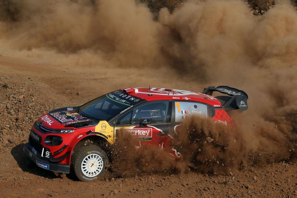 Защитаващият титлата си в Световния рали шампионат (WRC) Себастиен Ожие