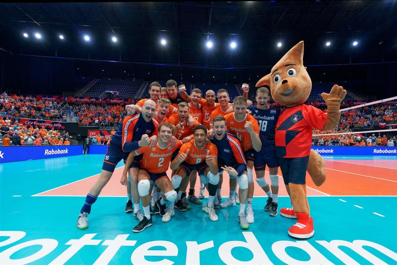 Волейболистите от националния отбор на Холандия записаха втора поредна победа