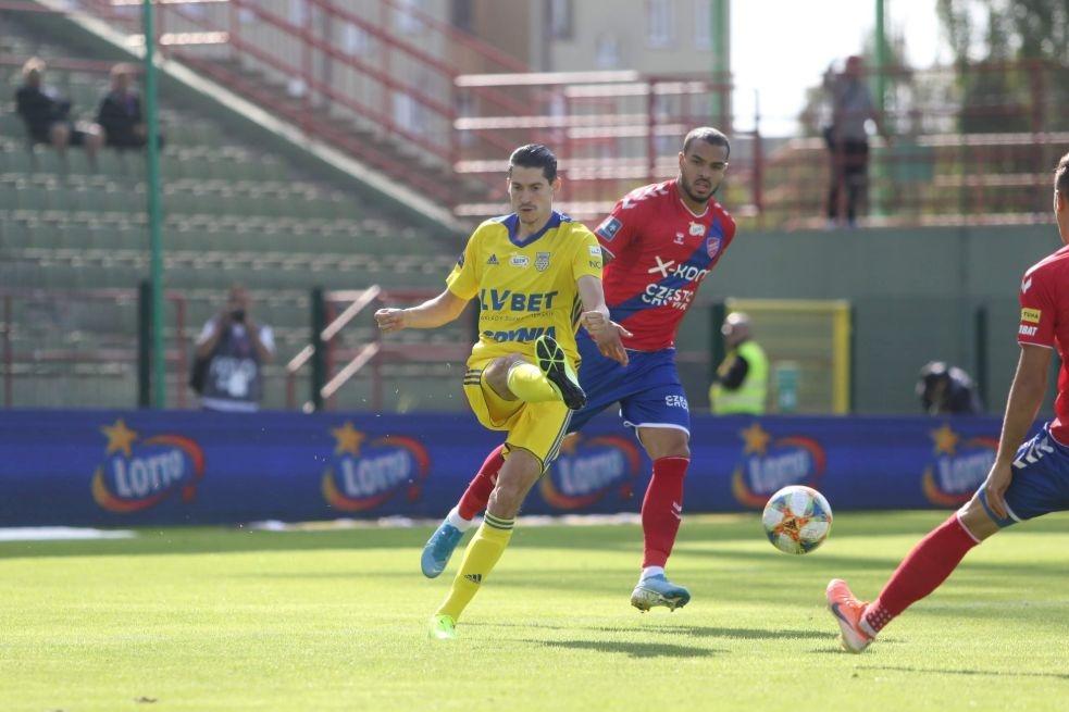 Отборът на Ракув (Честохова) постигна победа с 2:0 в домакинството