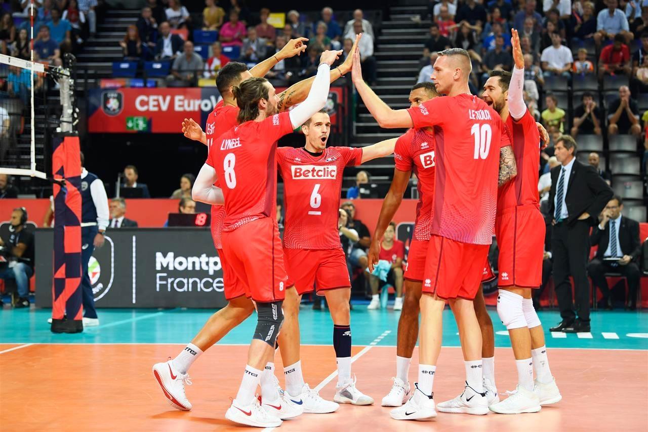 Национлният волейболен отбор на Франция постигна втора поредна победа на