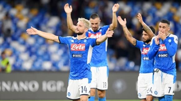 Отборът на Наполи постигна победа с 2:0 над гостуващия Сампдория