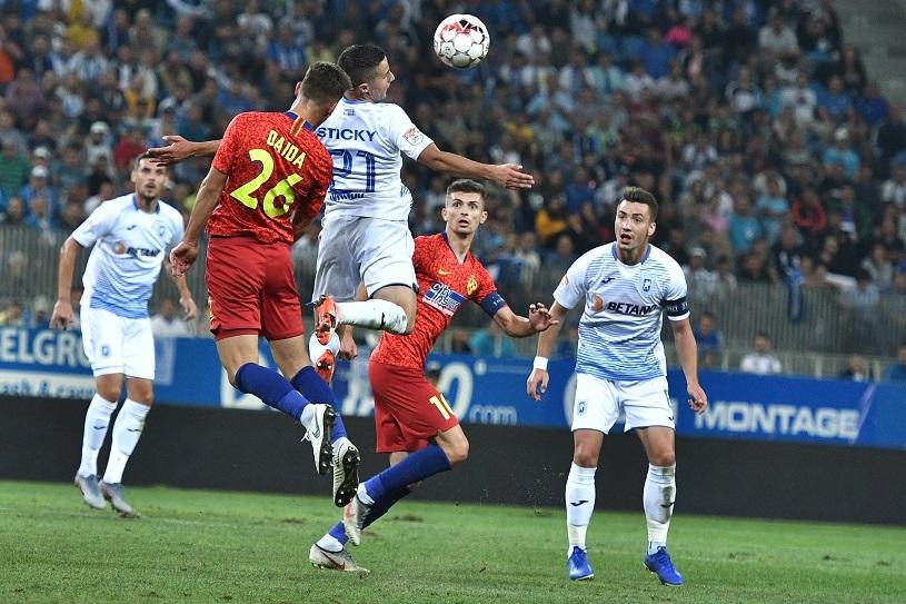 Голямото дерби от 9-ия кръг на румънското първенство между Университатя