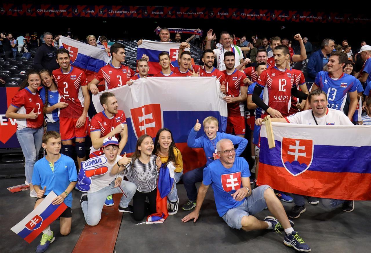 Волейболистите от националния отбор на Словакия постигнаха втора поредна победа