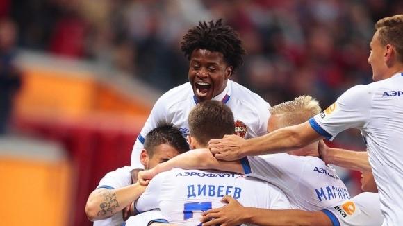ЦСКА (Москва) загря за сблъсъка с Лудогорец с победа като