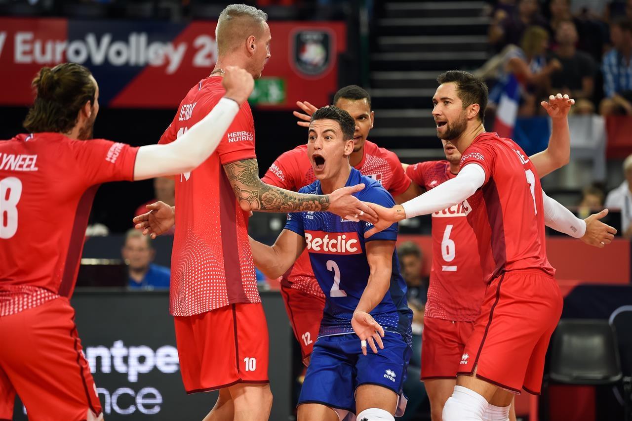 Националният волейболен отбор на Франция загря с победа за предстоящия