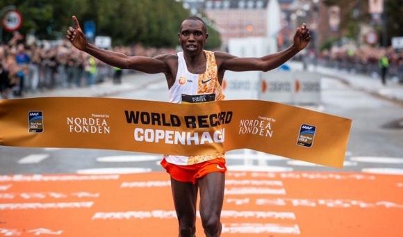 Елиуд Кипчоге обяви, че новият световен рекордьор в полумаратона Джефри