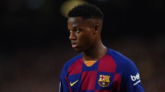 Новата сензация на Барселона Ансу Фати може да липсва от