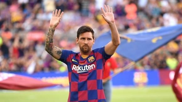 Лионел Меси попадна в групата на Барселона за утрешното гостуване