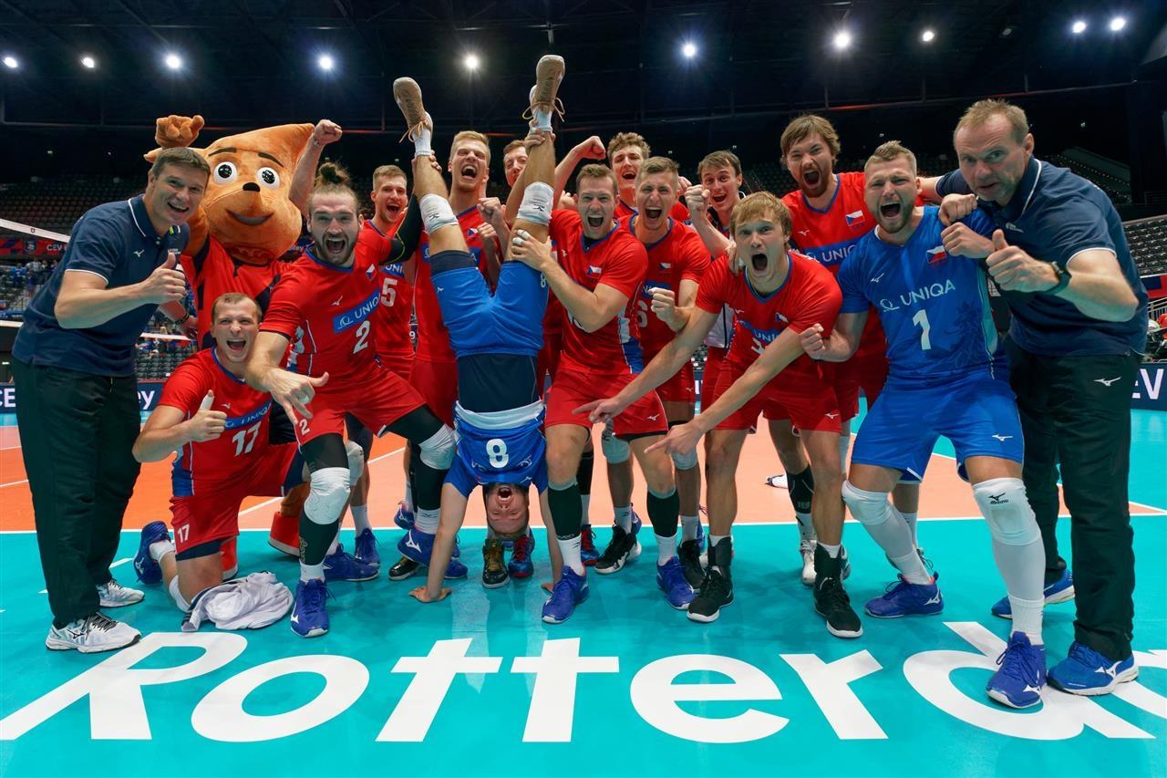 Националният волейболен отбор на Чехия записа първа победа на Европейското