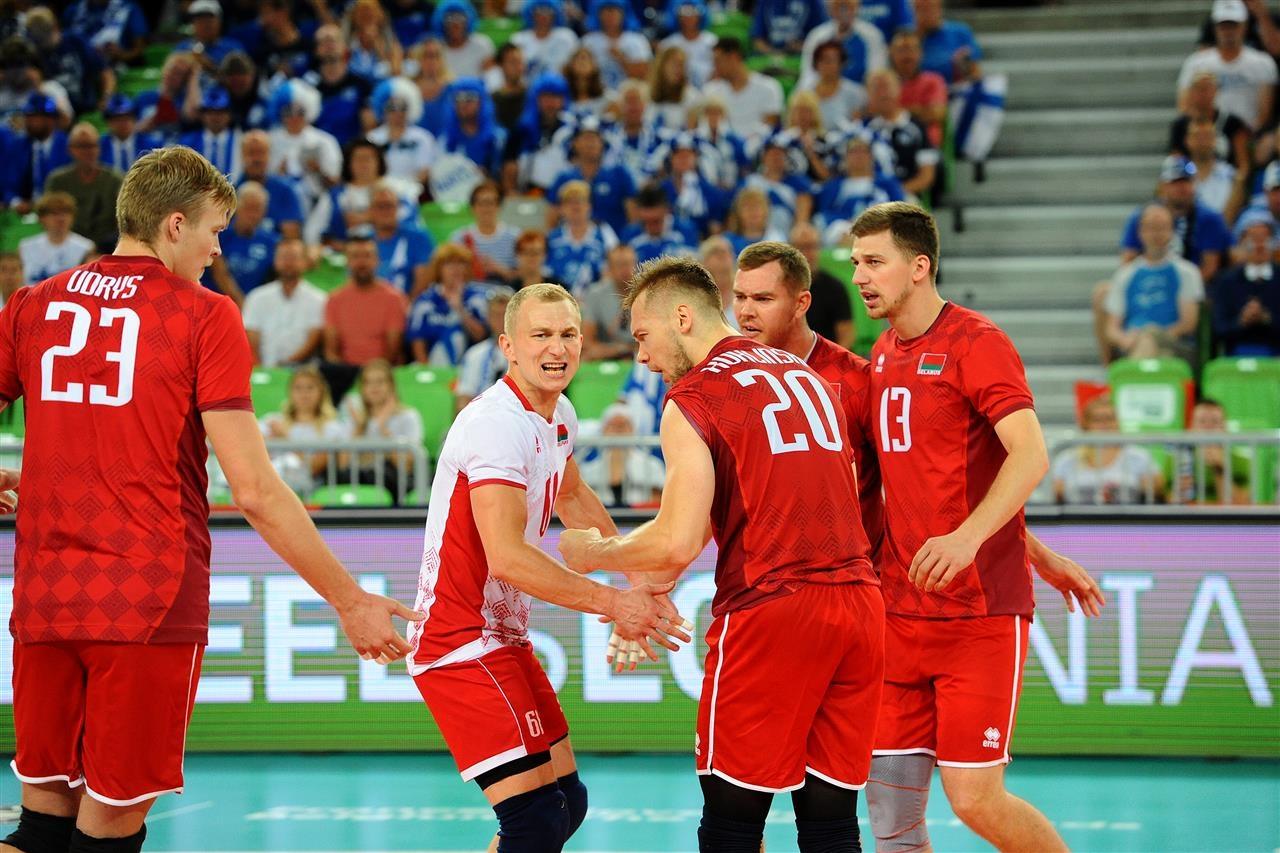 Мъжкият национален отбор на Беларус постигна първа победа на Европейското