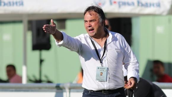 Наставникът на Хебър (Пазарджик) Николай Митов бе разочарован след поражението