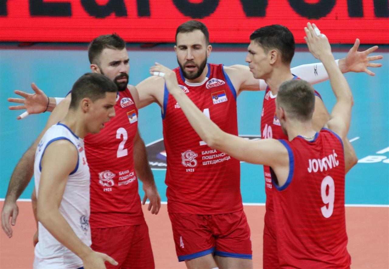 Волейболистите от националния отбор на Сърбия записаха трета поредна победа