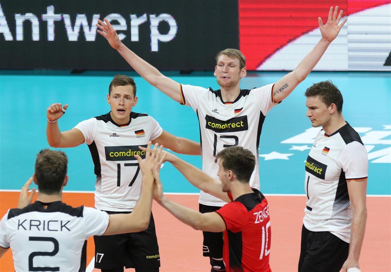 Волейболистите на Германия дочакаха своята първа победа на Евроволей 2019.