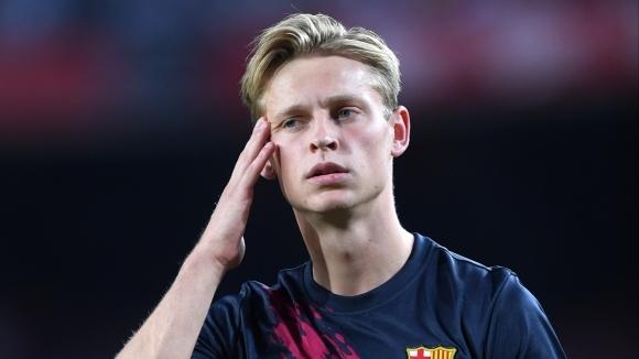 Едно от новите попълнения на Барселона, полузащитникът Френки де Йонг,