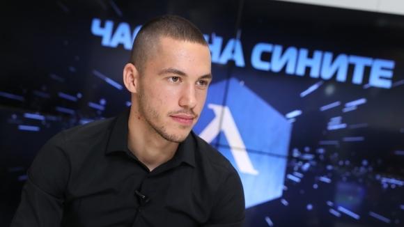 Младата звезда на Левски Станислав Иванов гостува в предаването