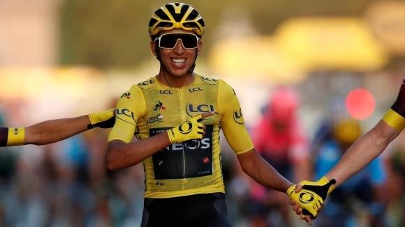 Победителят в тазгодишното издание на Тур дьо Франс Еган Бернал,