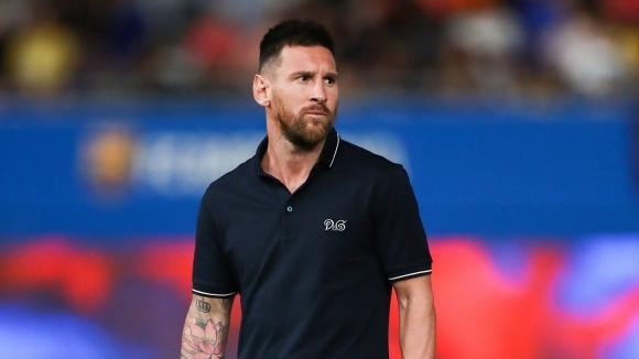 Капитанът на Барселона Лионел Меси ще седне на пейката по