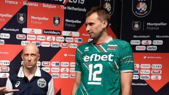 Капитанът на България Виктор Йосифов говори след загубата от Италия