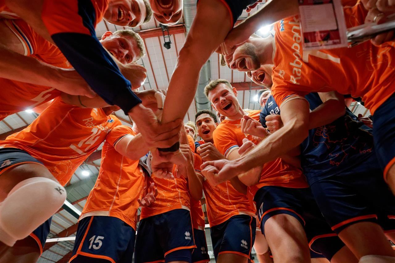 Волейболистите от националния отбор на Холандия постигнаха своята трета победа