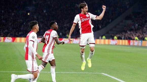 Миналогодишният полуфиналист в Шампионската лига Аякс стартира с разгромен успех