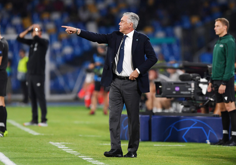 Треньорът на Наполи Карло Анчелоти остана здраво стъпил на земята