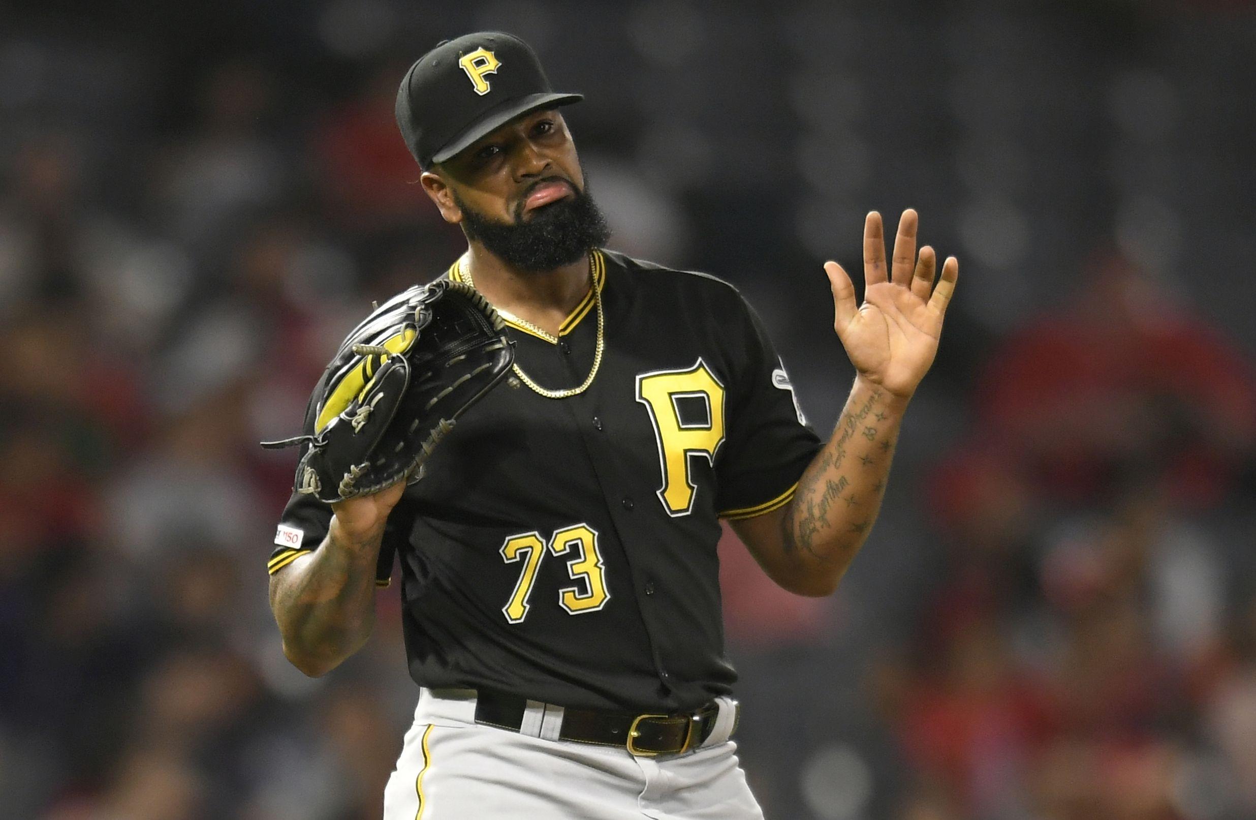 Звездният клоузър на бейзболния Питсбърг Пайрътс Фелипе Васкес е арестуван