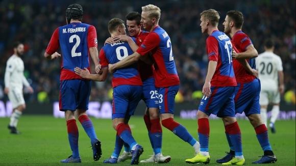 Отборът на ЦСКА (Москва) пристигна в България за мача от