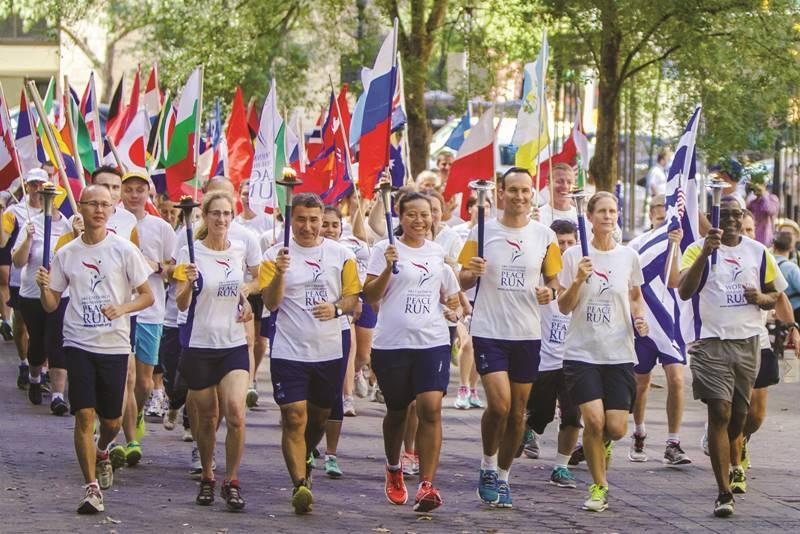 На 22 септември отборът на Пробега на мира ще се