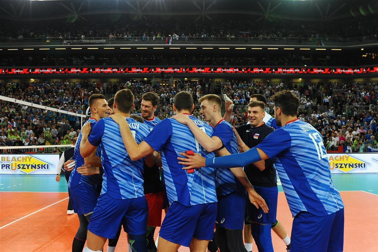 Настоящият европейски шампион Русия завърши с 5 победи от 5