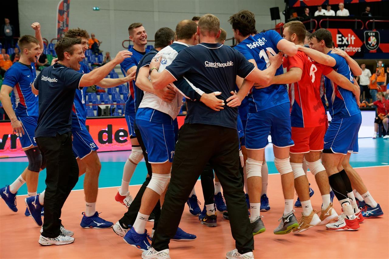 Националният волейболен отбор на Чехия записа втора победа в груповата