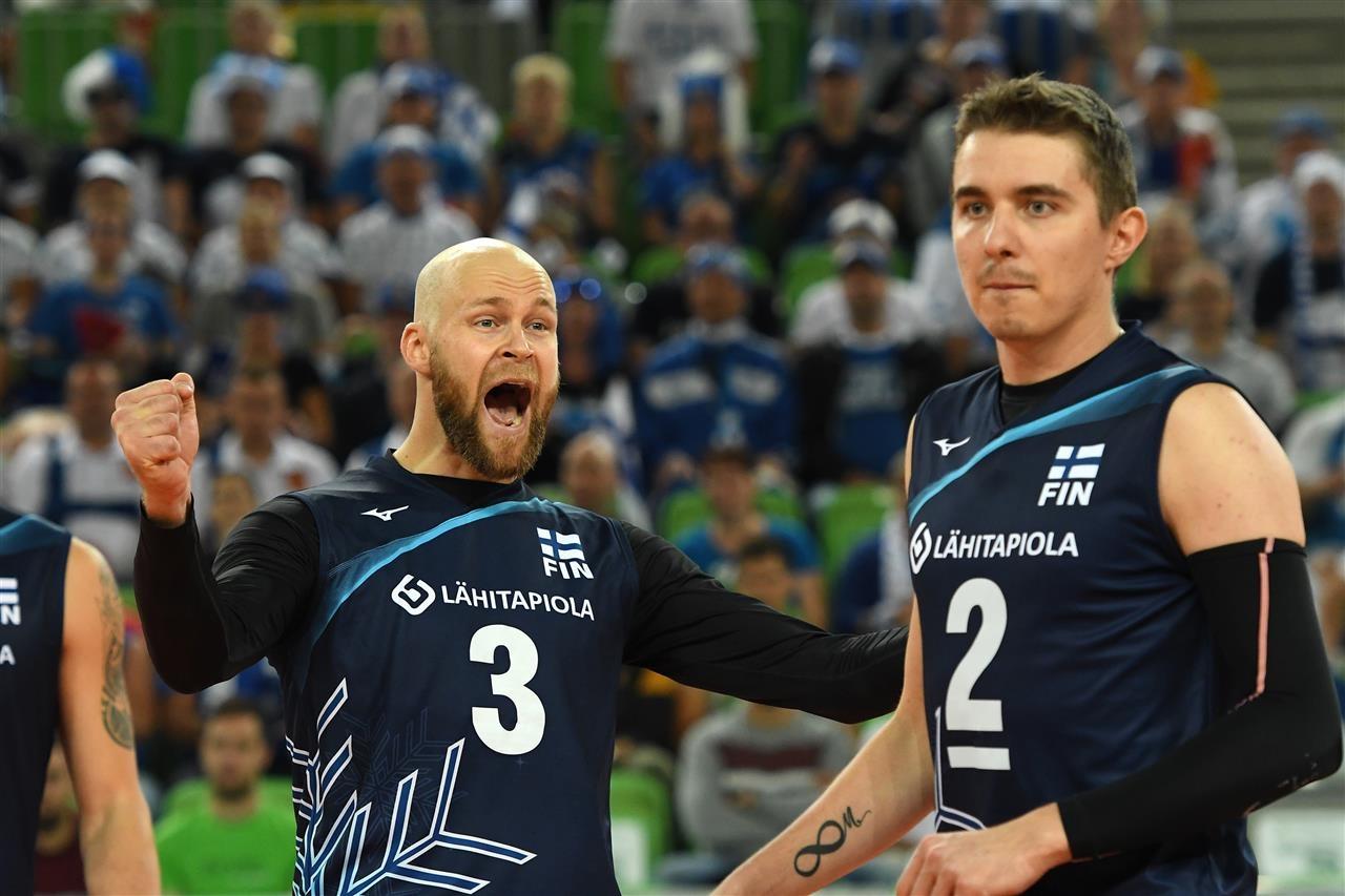 Мъжкият национален отбор на Финландия се класира за 1/8-финалите на