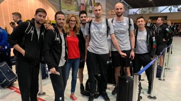 Волейболистите от националния отбор на България отпътуваха рано тази сутрин