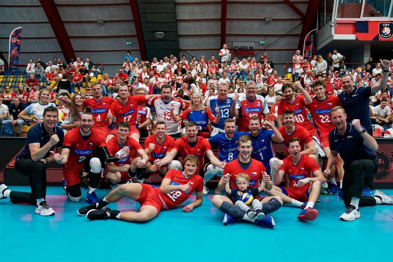 Националният волейболен отбор на Чехия взе нужното, за да продължи