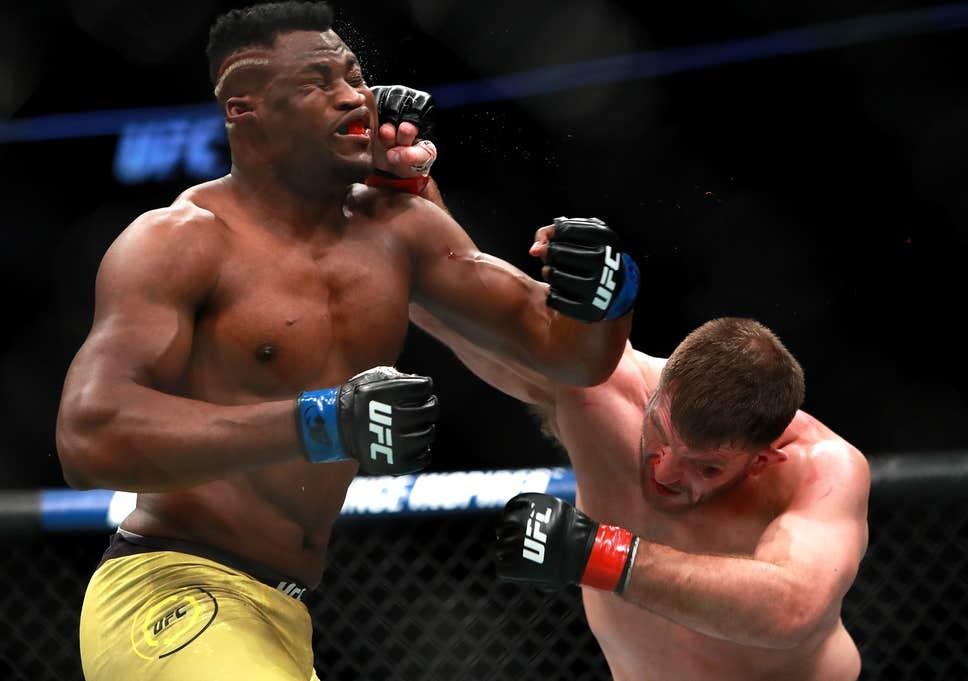 Лидерът в ранглистата на UFC в тежка категория Франсис Нгану