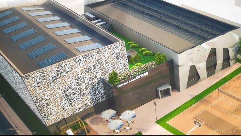 Започна строителството на нова спортна зала в Пловдив. Съоръжението ще