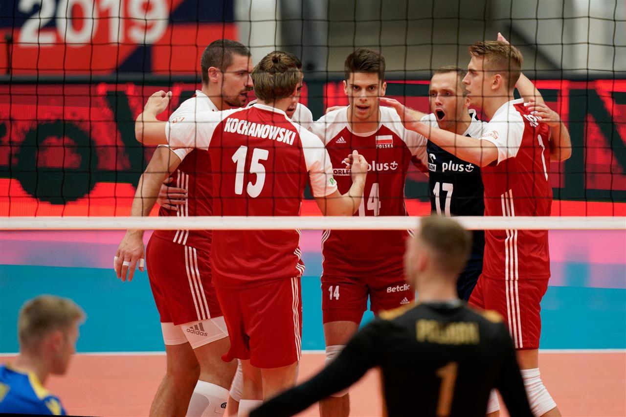 Националният отбор на Полша по волейбол завърши перфектно груповата фаза