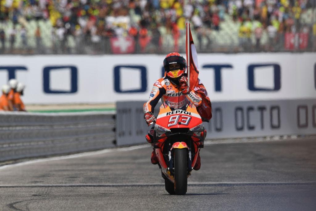 Лидерът в генералното класиране на MotoGP Марк Маркес записа най-бърза