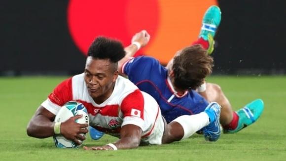 Домакинът Япония победи с 30:10 Русия в мача на откриването