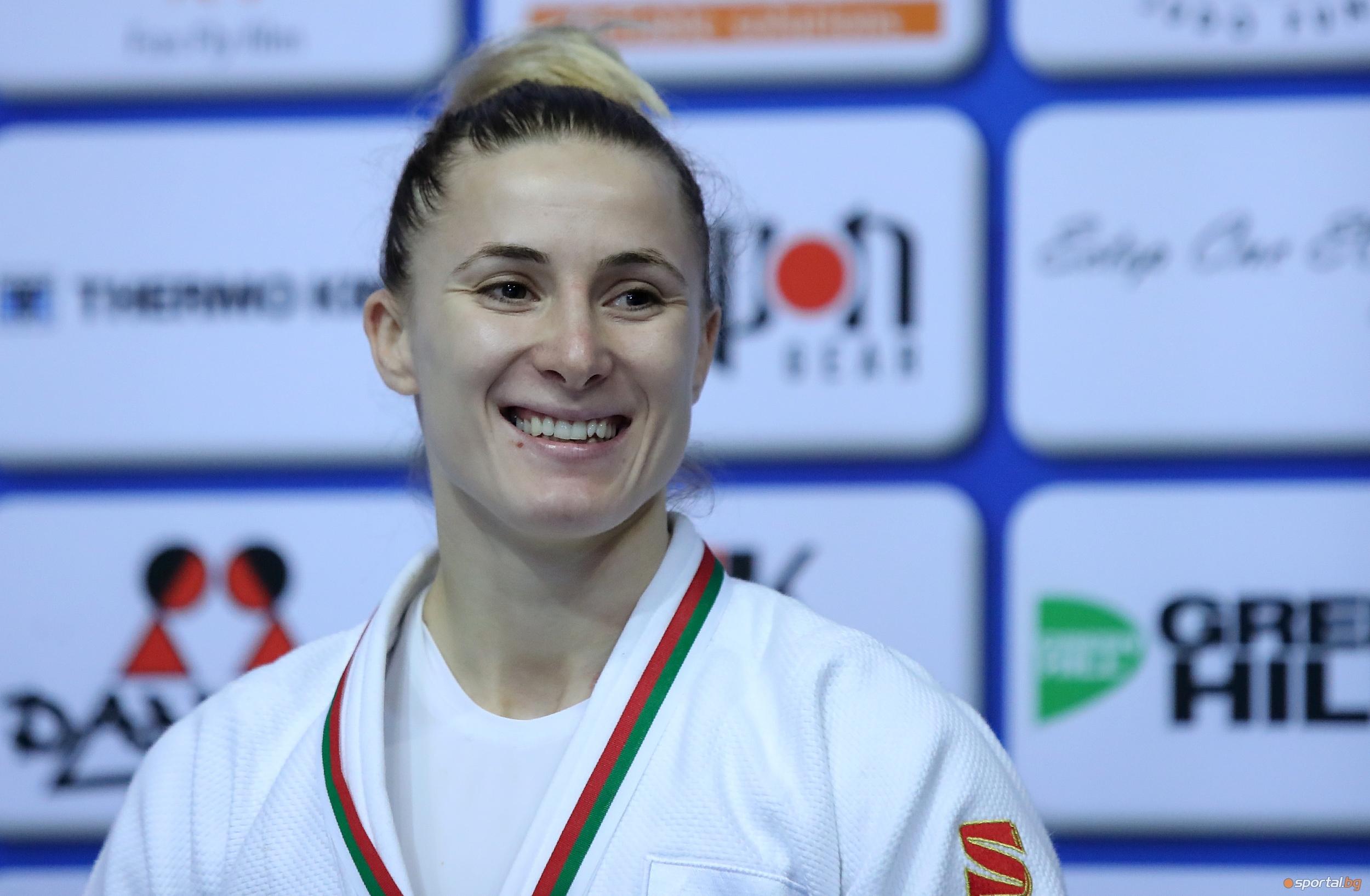 Най-добрата българска състезателка по джудо при жените в момента Ивелина
