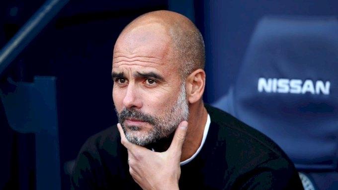 Мениджърът на Манчестър Сити Джосеп Гуардиола приема кадровата криза по