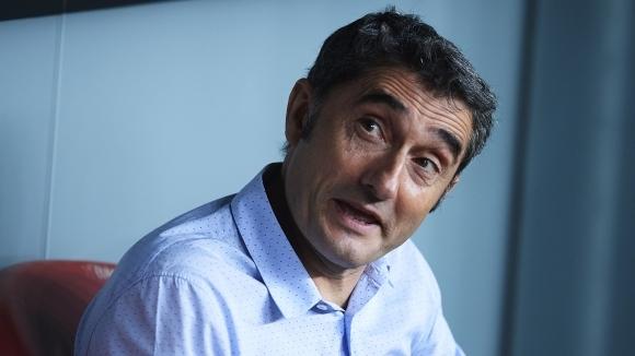 Наставникът на Барселона Ернесто Валверде изрази притеснението си от възможността