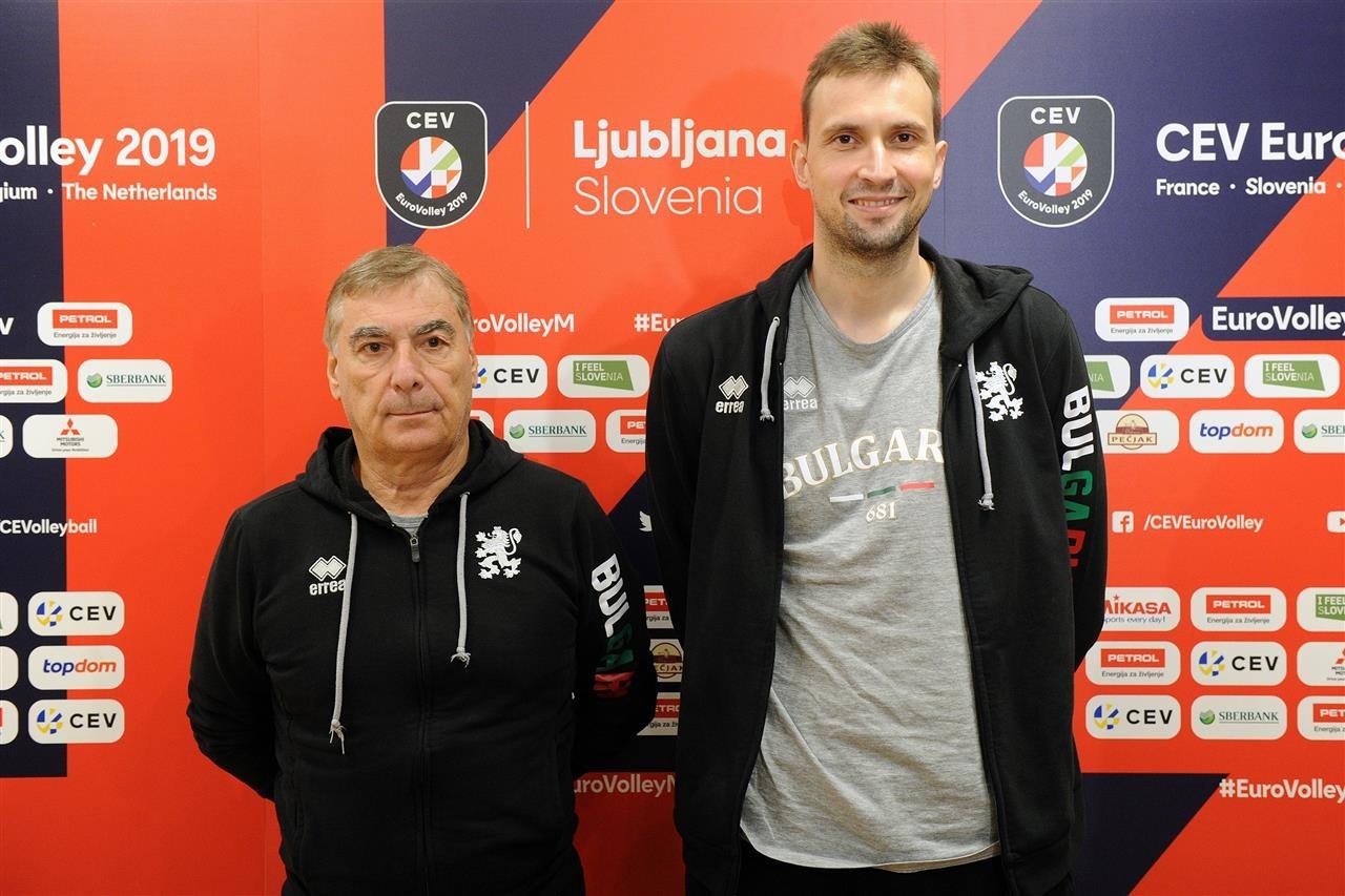 Капитанът на националния ни волейболен отбор Виктор Йосифов заяви преди