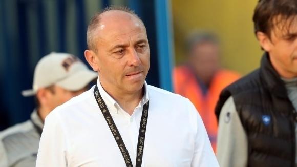 Наставникът на Черно море Илиан Илиев поздрави тима си след
